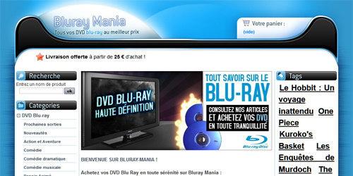 Blu ray dvd à gogo