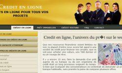 Un credit en ligne adapté