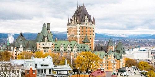 Visiter le Québec a été le plus beau des voyages c'est beau